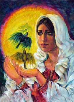 Sunbird in Palestinian Art